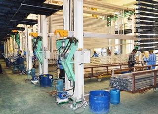 工业铝材氧化生产线