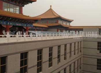 北京中医药港工业铝型材案例